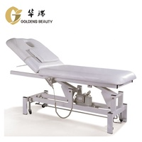 electric massage facial bed treatment examination table with height and backrest adjustable