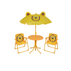 Comfortable Kids Gardening Table And Chair Set With Umbrella
