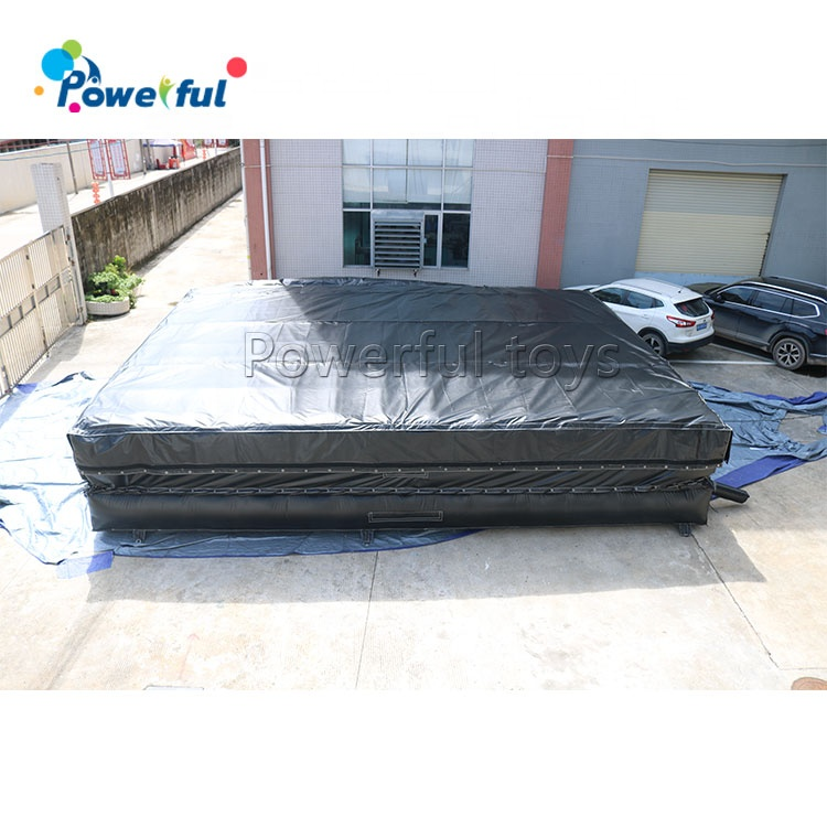 Giant inflatable stunt jump airbag for foam pit bmx pit gym pit