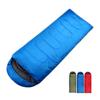Custom Outdoor Waterproof 4 Season Cheapest Homeless Ultralight Portable Winter Travel Envelope Sleeping Bag For Cold Weather