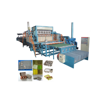 CE certificate 6000pcs/hr egg paper tray carton making line