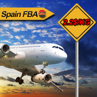 Air Freight Rates Shipping from China to Spain FBA Door to Door Cargo Service