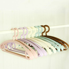For Clothes Wholesale Multifunctional Plastic Shoulder Wide Coat Hanger For Wet And Dry Clothes