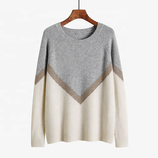 New Autumn Winter Women Pullover Sweater Fashion Striped Designer Casual Jumper Female Sweater