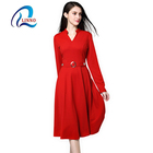 Customized color elegant luxury summer sexy party women clothing dress
