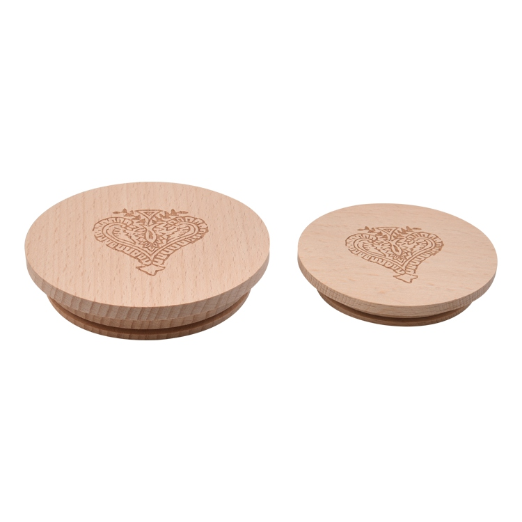 Welcome to Custom Candle Lids For Gladd  frosted candle jar wood lid