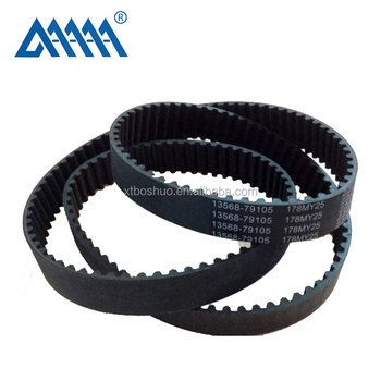 High quality and lower price mazda Auto timing belt ncr parts megadyne belt
