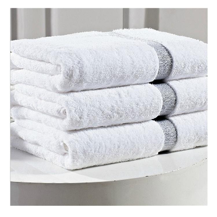 HOTEL HOSPITALITY CREAM ZERO TWIST COTTON 600 GSM BATH SHEET TOWEL 90 X 140CM