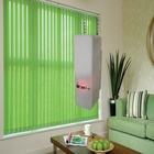 Metal Chain Electric Window Perforated Zigbee Roller Blinds Motor