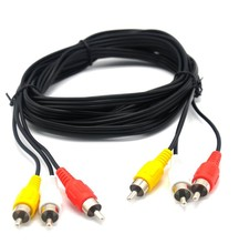 3rca Zu 3rca Av Rca Kabel Hifi Car Audio Kabel 10m Für <span class=keywords><strong>Dvd</strong></span>-Player