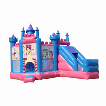 China Better Prices Commercial Grade Material Mini Adult Inflatable frozen Bouncy Castle With Air Pumps Princess castle