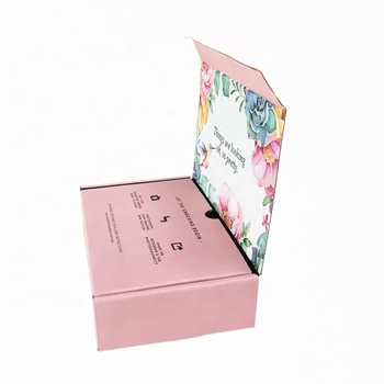 New design custom shipping corrugated double protection paper box