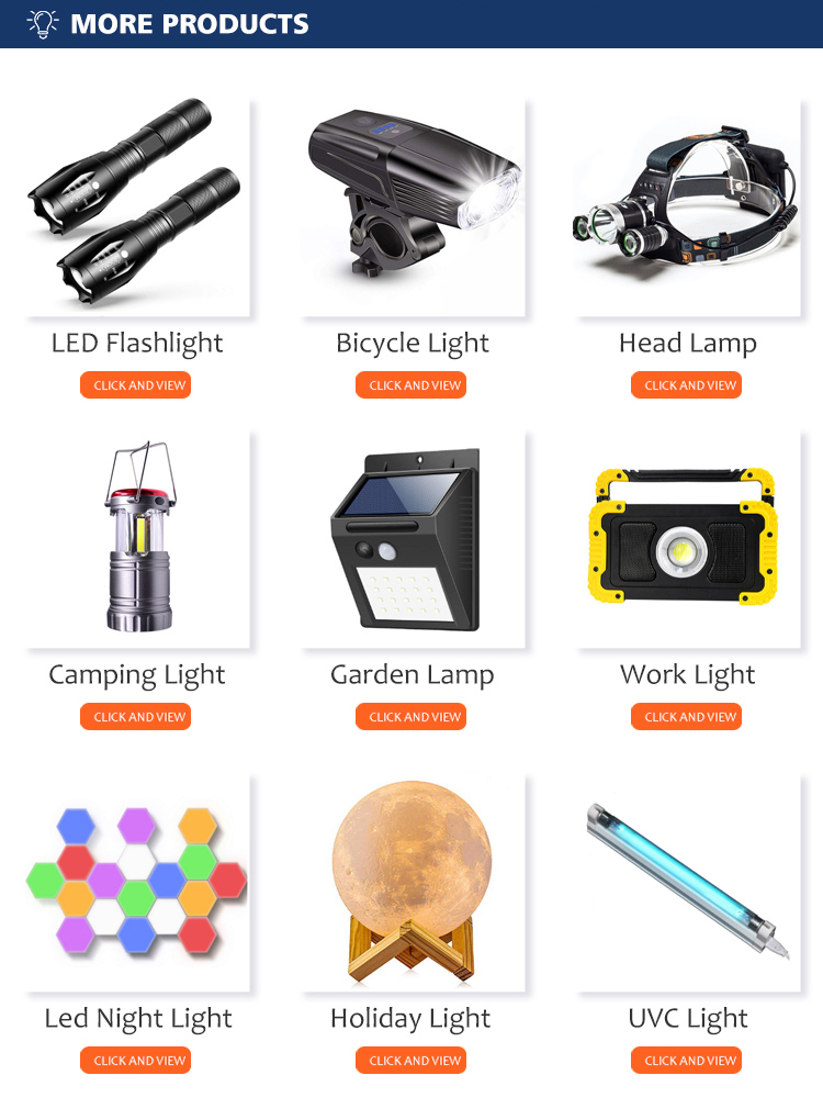 Portable USB Rechargeable Inspection Lamp 360 Degree Rotation Magnetic Base Rotary Switch Hook Cob Led Work Light