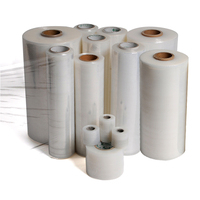 XinHe manufacturer price high transparency plastic pallet packing roll lldpe pe jumbo stretch film
