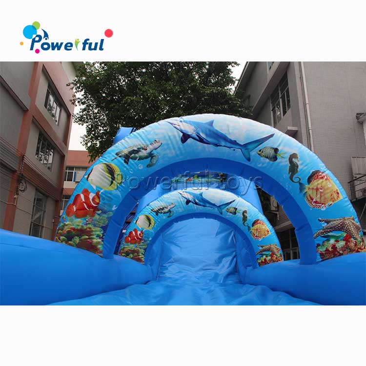 inflatable jumping slide for children playground