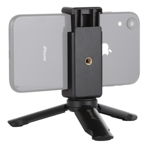Wholesale PULUZ Mini Plastic Pocket Tripod + Universal Phone Clamp Bracket for iPhone for Galaxy Smartphones