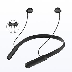 Super Bass Hanging Neck Magnetic Earphone Wireless Bluetooth Headset for Mobilphones