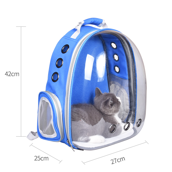 More Cute Pet Supplier Lightweight Breathable Hiking Travel  Fashion Bubble Space Pet Backpack Carrier Bag Pet Supplies