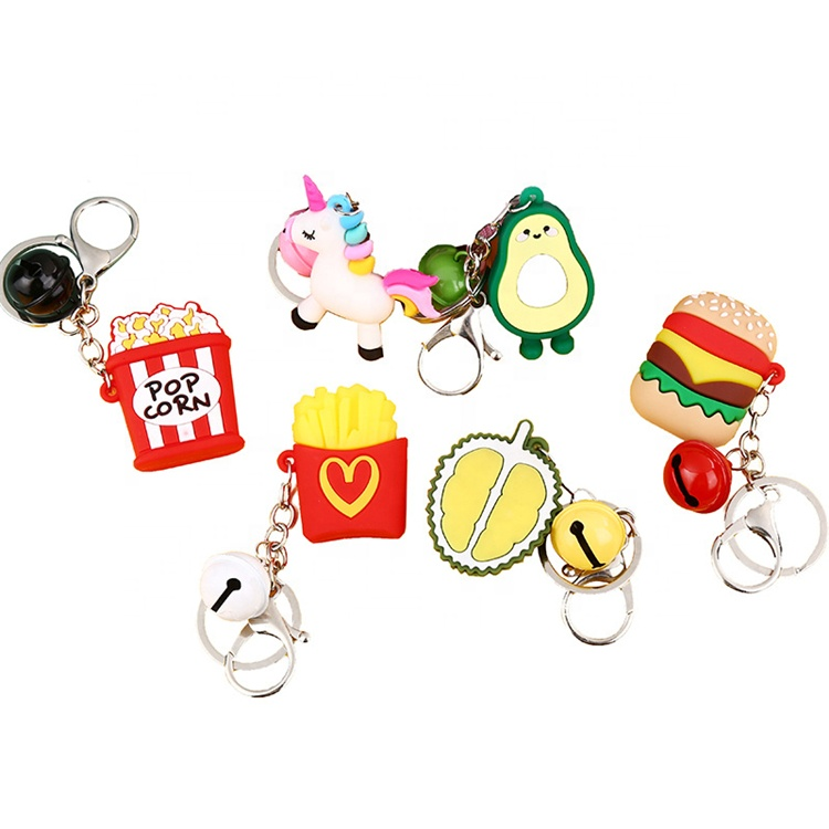Wholesale Personalized <strong>Cute</strong> Soft Promotional <strong>Gift</strong> 2D/3D <strong>cute</strong> custom keychain