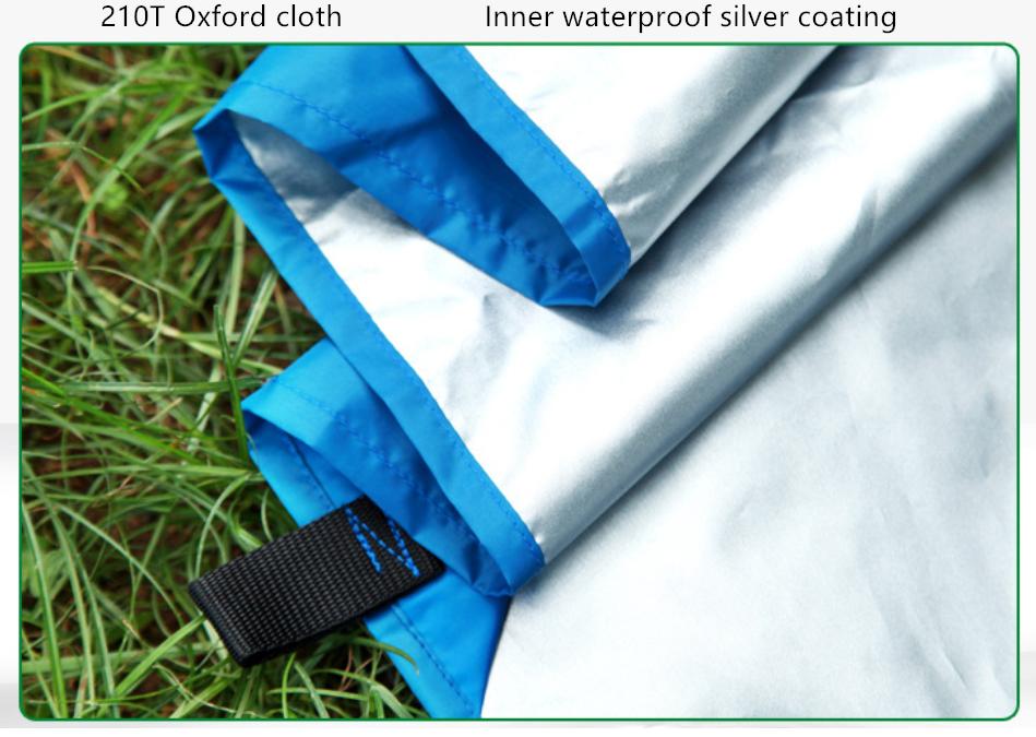 Survival Tarp Water Proof Camping Onderdak Ripstop Lichtgewicht Hangmat Regen Vliegen Tent Tarp
