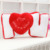 Valentine's Day Home Decorations I Love You Pillow LOVE Letter Shape Cushion
