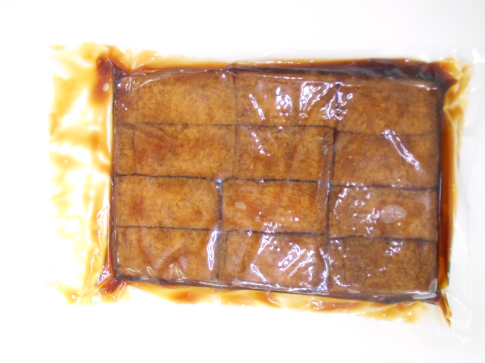 100% delicious oily tofu sushi fried bean curd skin made in Japan
