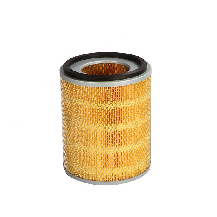 Polyester luchtfilter cartridge in lassen dampen mechanische verwerking