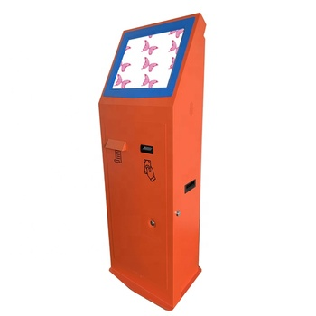 High quality Touchscreen internet sale commercial electronic self-service check in pay machine ATM interactive kiosk