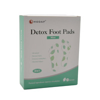 Original factory bamboo detox foot patch aroma foot pad