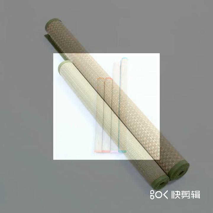 Pliable en plastique PP pique-nique tapis de plage de camping/pliable tapis de plage de paille