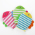 Bath Gloves Cleaning Sponge cartoon fish shape  bath  exfoliating gloves