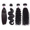 Wholesale Vendor Unprocessed 10a Grade 100% Natural Raw Remy Brazilian Cuticle Aligned Virgin Human Hair Bundles Weave Extension