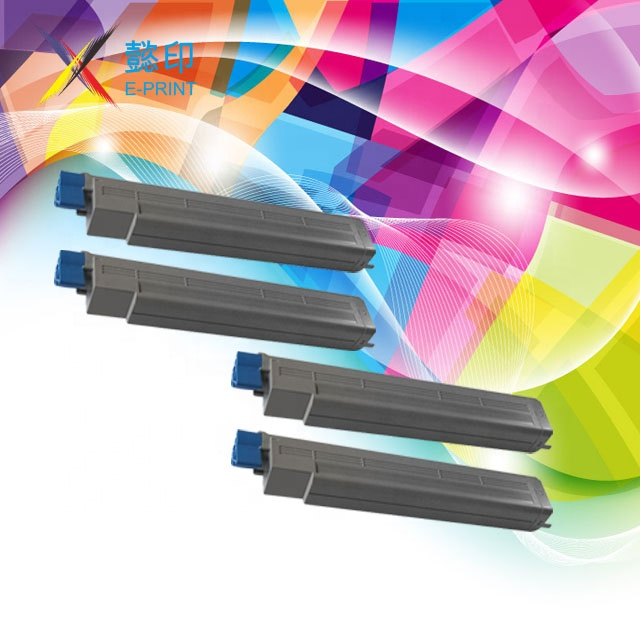 Compatible 42918988 Color Toner Cartridge For Use In OKI CX3641 Cartridges 42918987 n 42918986 n 42918985