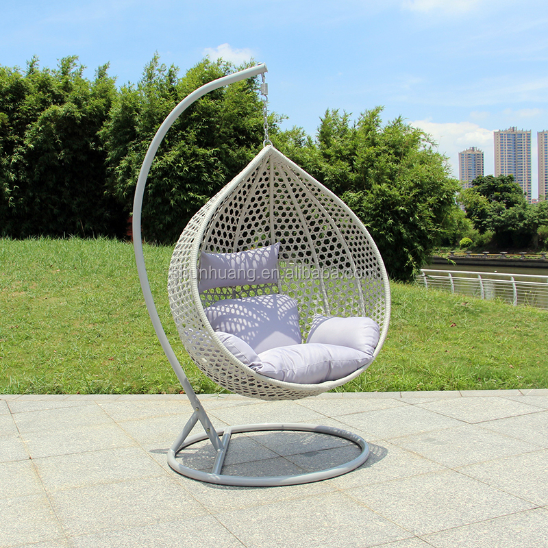Wholesale Outdoor Rattan Egg Chair Single Hanging Chair With Metal Frame Buy Swing Chair Rattan Egg Chair Rattan Hanging Chair Product On Alibaba Com