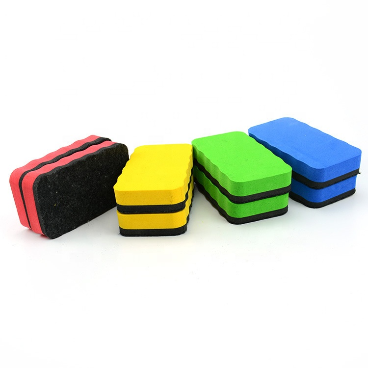 Hot Sale High Quality School Office EVA Magnetic Dry Eraser For Magnetic Whiteboard