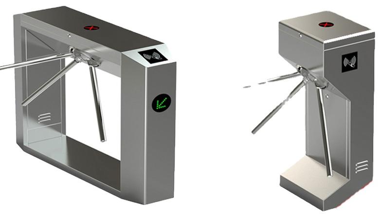 तापमान परीक्षण थर्मामीटर अभिगम नियंत्रण उपस्थिति नियंत्रण स्वचालित तिपाई घूमने वाला दरवाज़ा