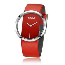 DOM нейлоновый ремешок Стильные кварцевые женские часы Топ бренд часы модные повседневные наручные часы Простой дизайн наручные часы LP-205- 2M4(China)