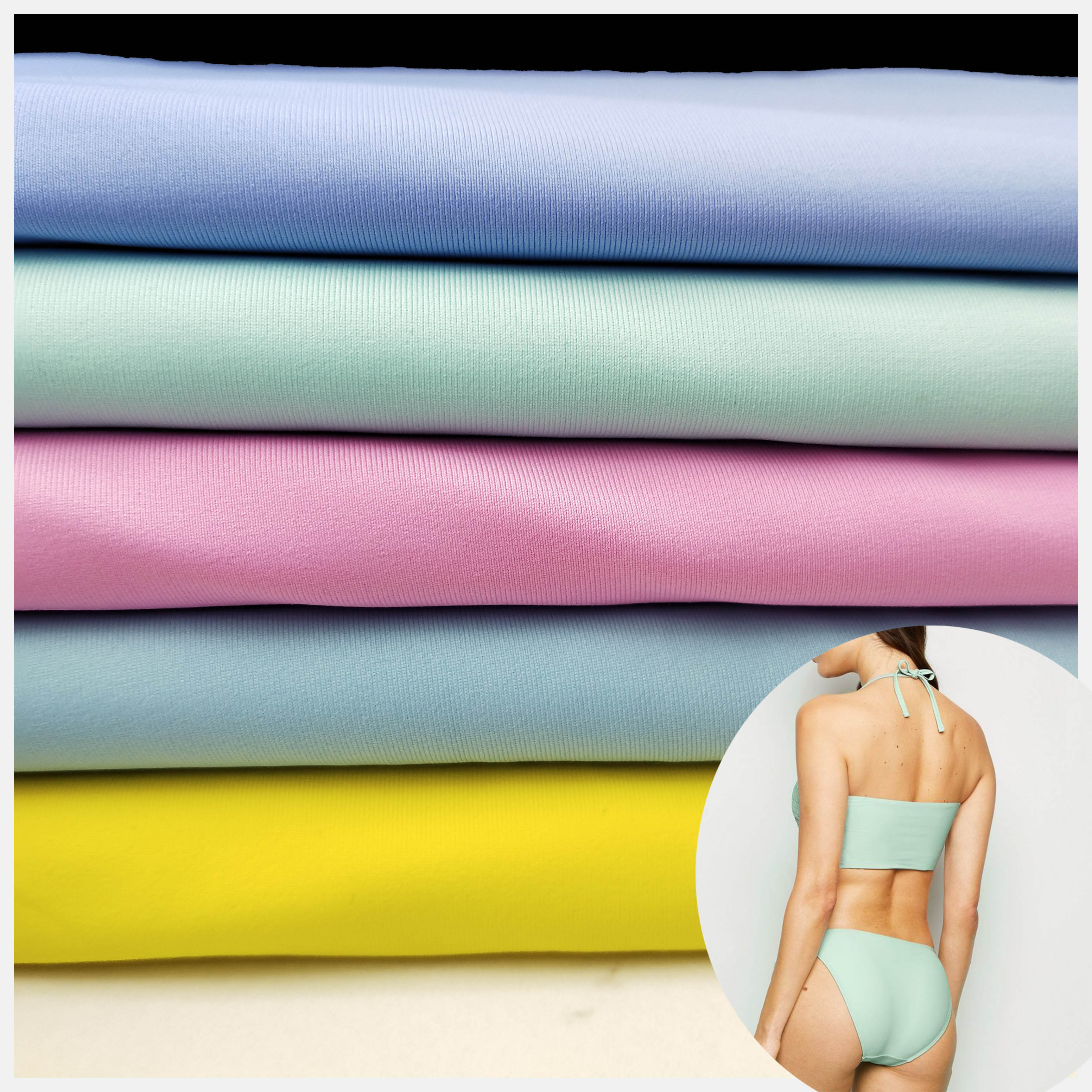 four way tretch bikini fabric,1 Yard, Customer's request