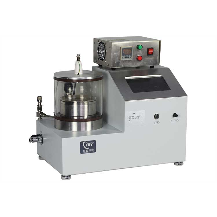 Plasma sputtering coater with one 2 inches sputtering sources for coating gold films