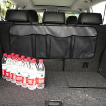 Сумка-Органайзер на заднее сиденье автомобиля, сетка для внедорожника, сетка для хранения, складные карманы для мусора, автомобильные аксес...(Китай)