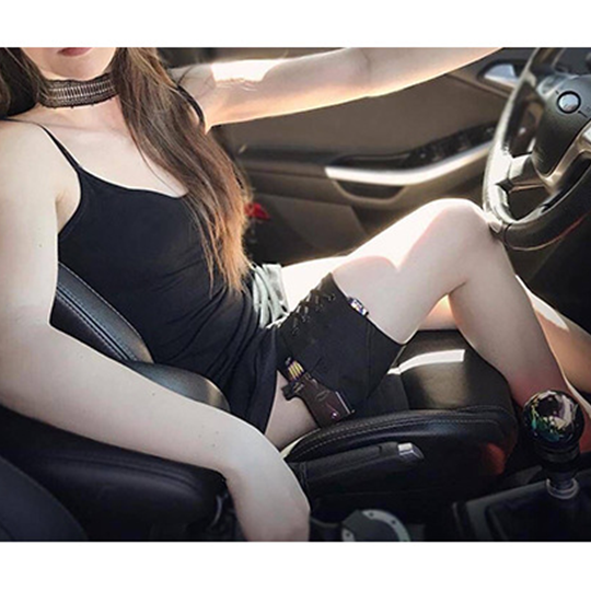 Portable Hip Women Anti-Slip Adjustable Leg <strong>Gun</strong> <strong>Holster</strong> Concealed Carry Garter Thigh Pistol <strong>Holster</strong> Belt