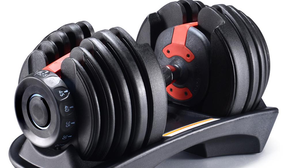 China preço barato 24kg pesos halteres ajustáveis conjunto de equipamentos de ginástica para a venda