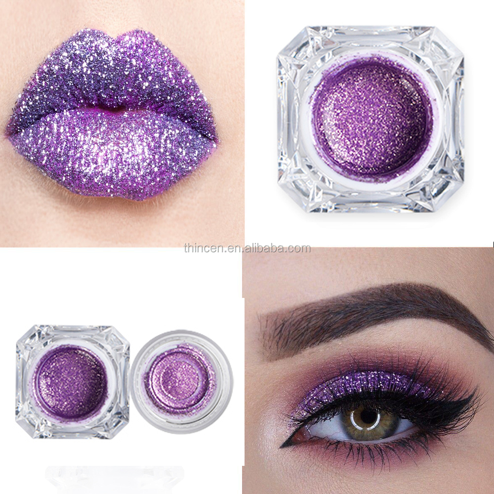 Wholesale Jelly Makeup Single Glitter Eyeshadow Pigment  Private Label