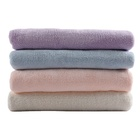 high quality microfiber fabric coral fleece bath towel face hand towel