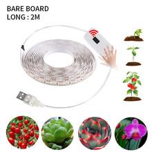 5V USB светодиодный светильник для выращивания растений, полный спектр, водонепроницаемый светодиодный светильник, s 2835 60 светодиодный s Фито ...(Китай)