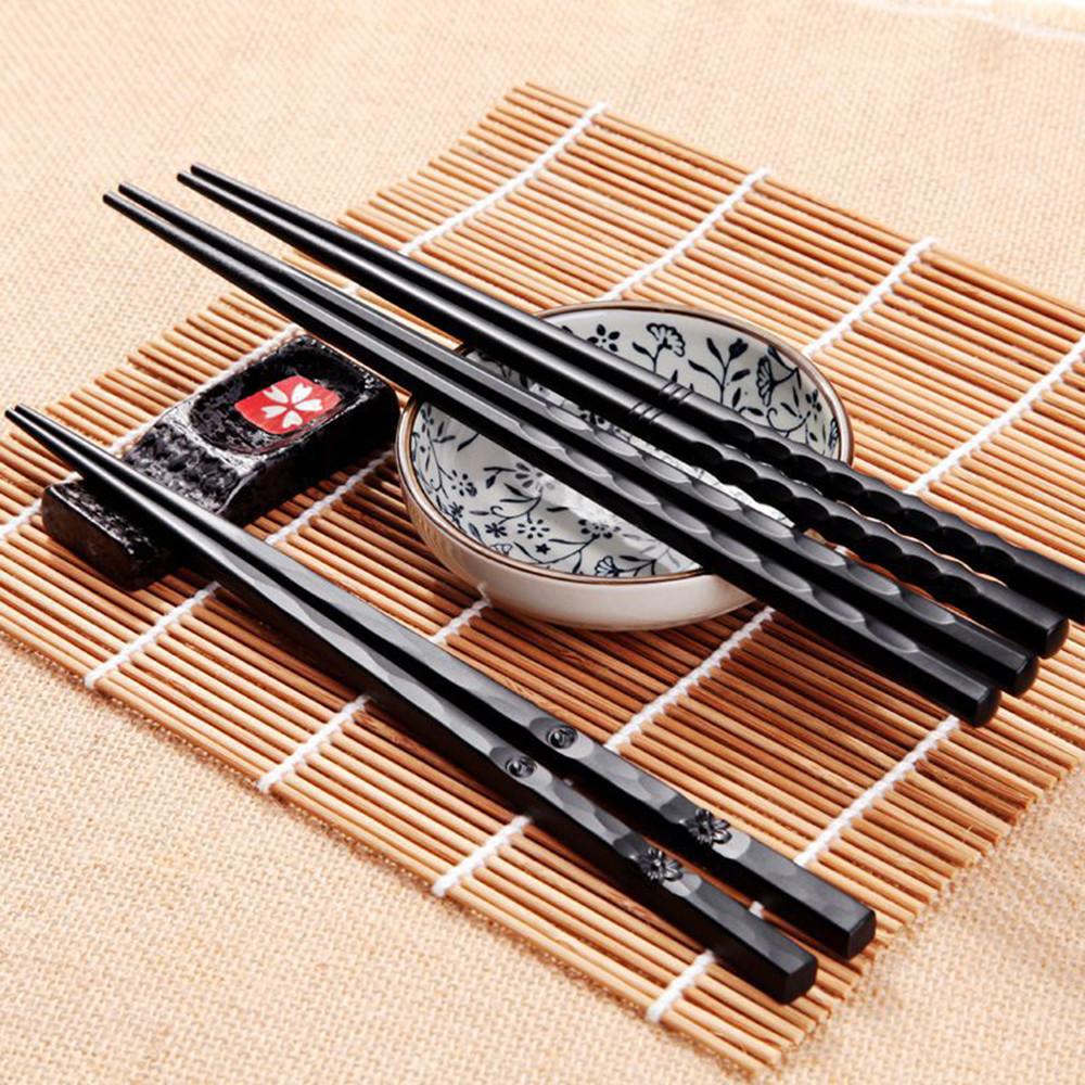 1pair Japanese Chopsticks Alloy Non Slip Sushi Food Sticks Chop Sticks Chinese Gift Palillos Japoneses Reusable Chopsticks 918 Chopsticks Aliexpress