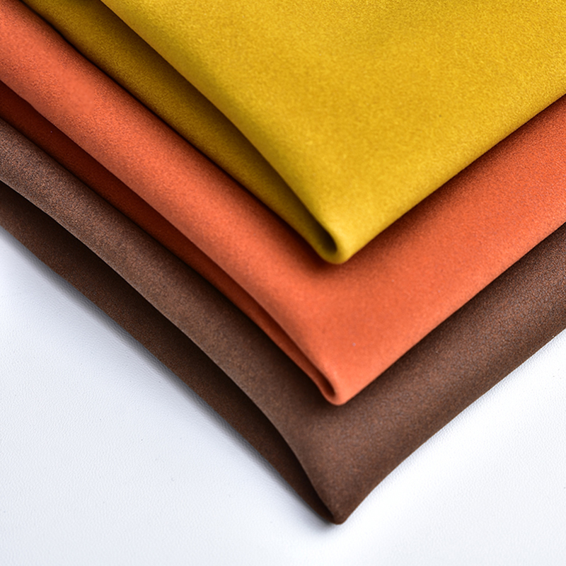 100 Microfiber Suede Artificial Pu <strong>Leather</strong> Flocking Synthetic Goat Imitation Suede PU Pvc <strong>Leather</strong> Texture