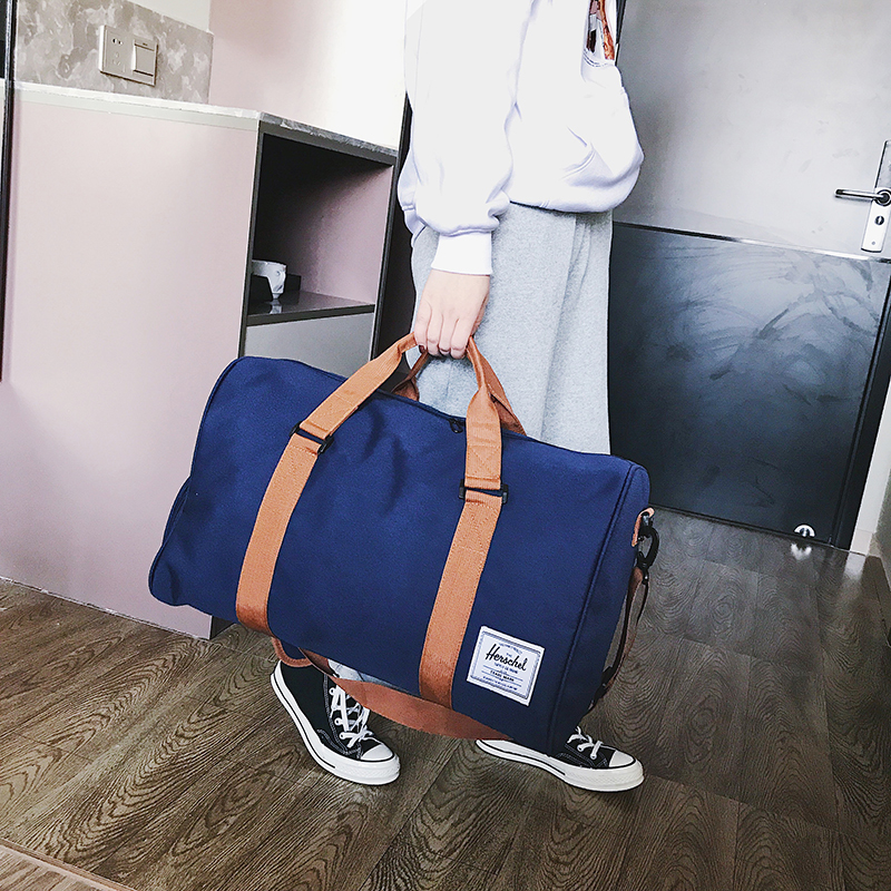 Custom Weekend Gym Sports Travel Wax Canvas Duffle Bag Large New Style duffle bag oem Waterproof Gym sports leisure Travel Bag