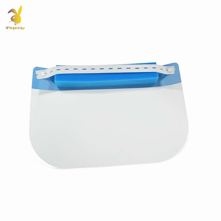 Hot Selling Disposable Plastic Protective Face Shield Mask