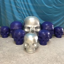 Terreur dier glasvezel skull aangepaste ghost kat <span class=keywords><strong>halloween</strong></span> decoratie outdoor